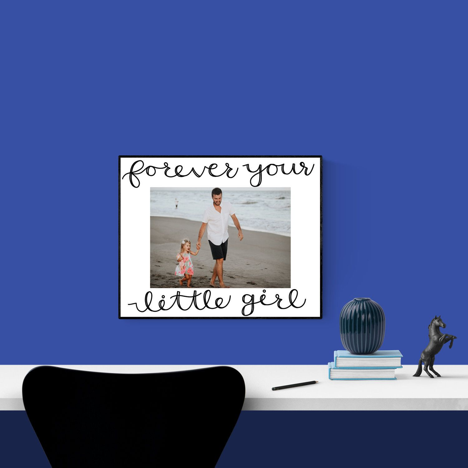 Father daughter dance picture frame fathers day gift