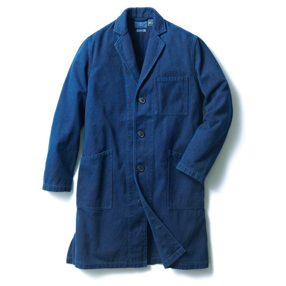 刺し子織り生地のエンジニアコート   ブルー・ブルー・ジャパン(BLUE BLUE JAPAN)公式通販 - JACKET REQUIRED