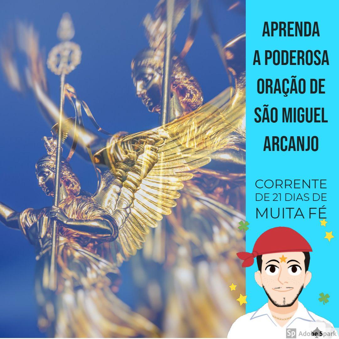 Oracao De Sao Miguel Arcanjo 21 Dias Poster Movie Posters