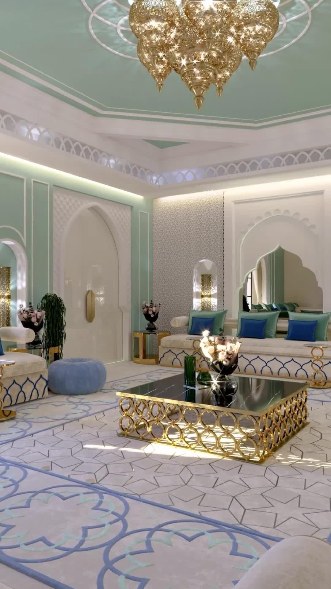 Modern Moroccan Style Interior Design And Home Decor In Dubai Video Video Luxury House Interior Design Interior Design Dubai Moroccan Style Interior