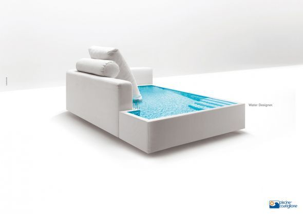 Piscine Castiglione Sofa Ads Of The World With Images Cool
