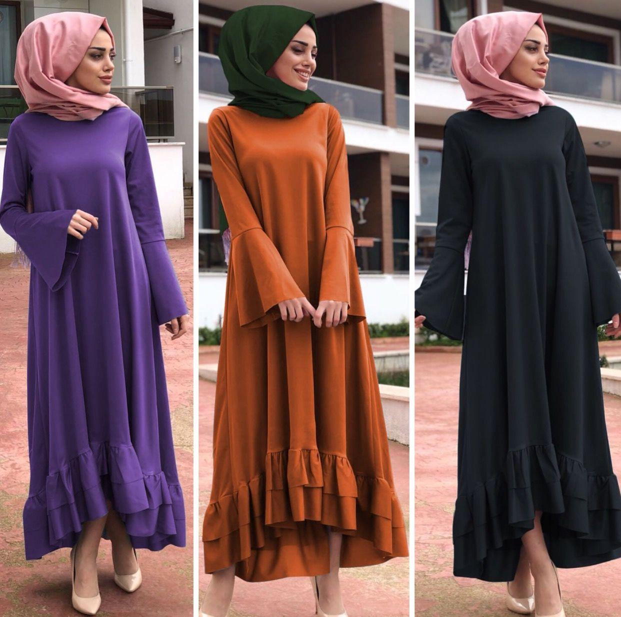 614d10b58aeff IG: semraboutique   giyim   Elbiseler, Türban kıyafetler und Kıyafet