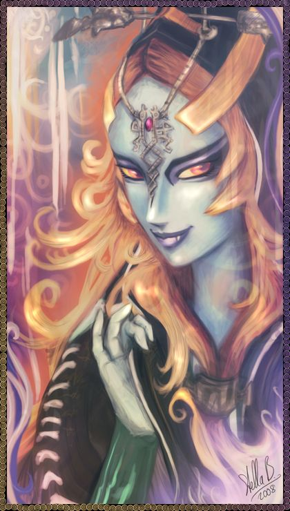 Colorful Midna by StellaB