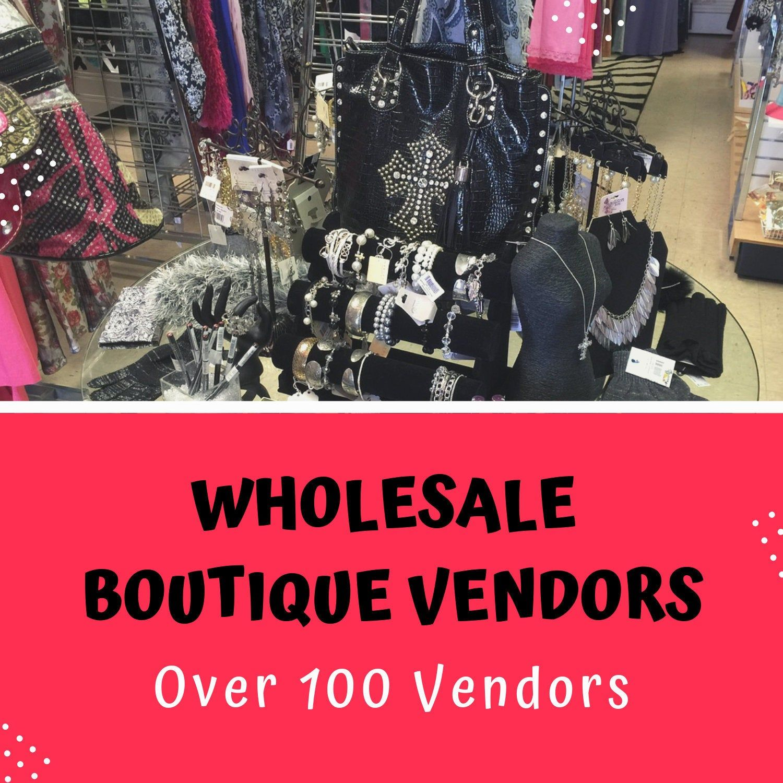 Wholesale Boutique Vendor List USA Suppliers Over 100