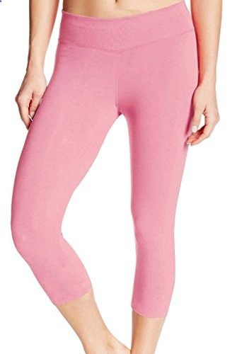 0a9a3368b0457 4HOW Women s Capri Tights Running Yoga Pants Fitness Leggings Pink X-Large  Go to the website to read more description.