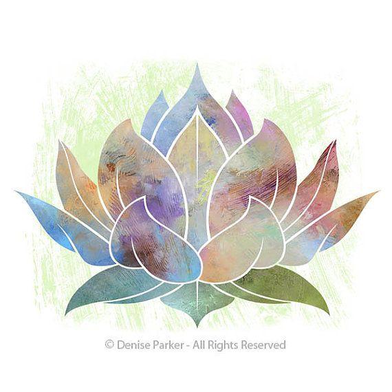Pin By Blue Moon Art On Art Ideas Yoga Art Lotus Flower Art