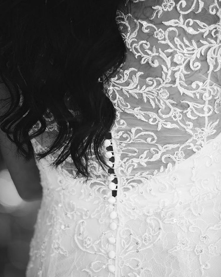 Detailed Wedding Gown - Anna Kim Photography