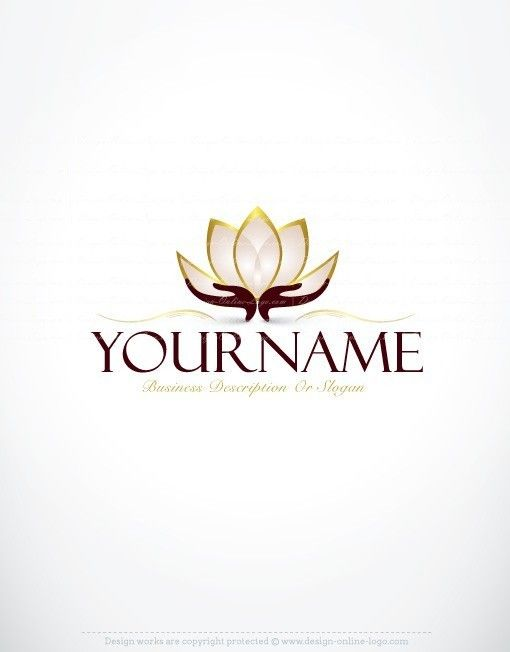 Exclusive logo design lotus flower logo images lei pinterest exclusive logo design lotus flower logo images free business card ready made exclusive design with a lotus flower logo image reheart