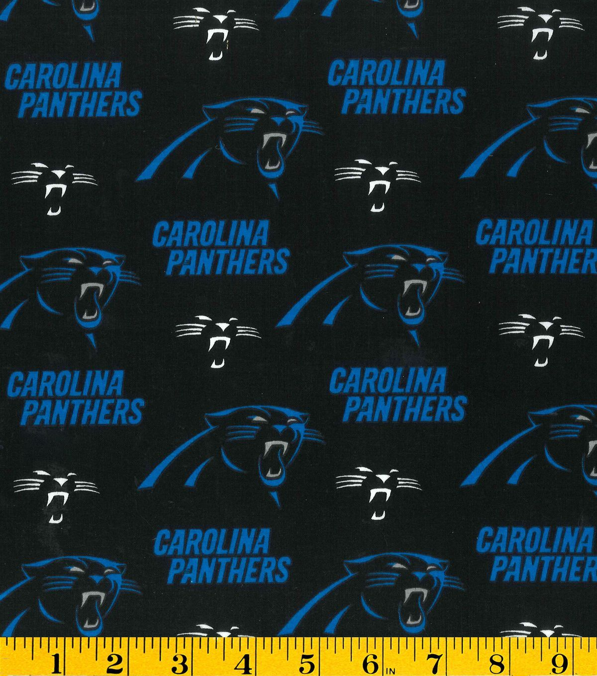Carolina panthers cotton fabric