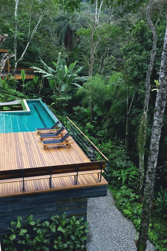 Rio De Janeiro Brazil Maison Bali Piscines De Reve Modele Architecture