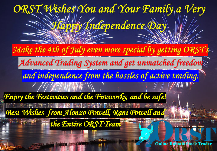 stock market independence day