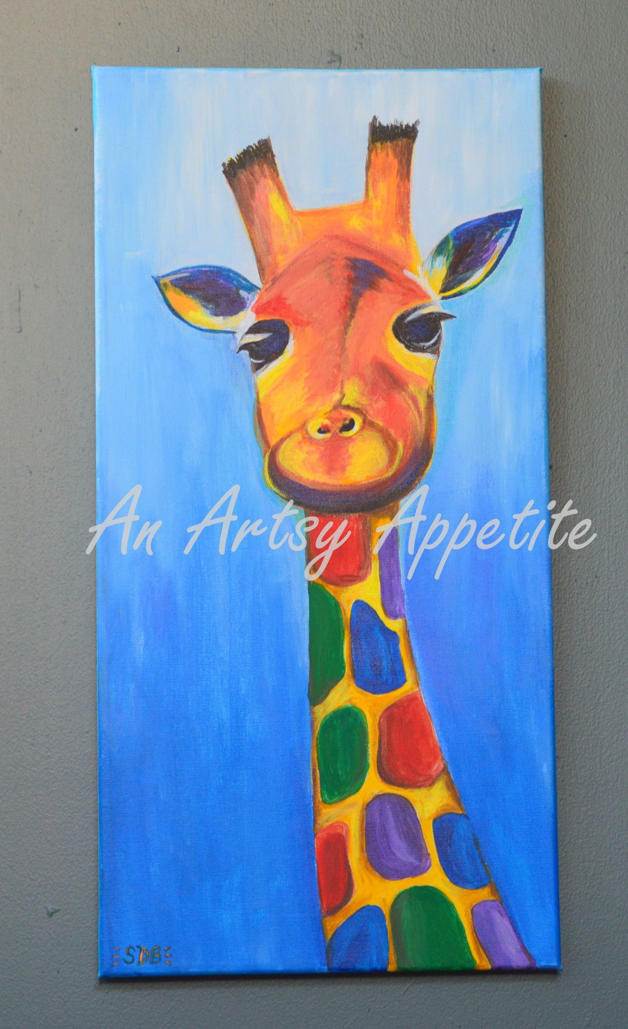 Acrylic Painting For Kids Room Painting Inspired