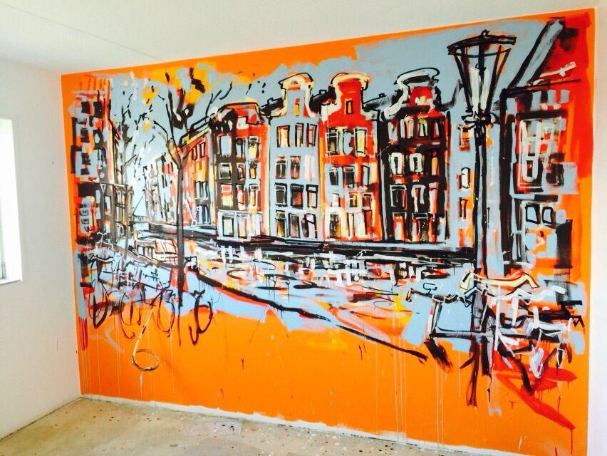 Kamer 708 #arthotel #amsterdam #design #hotelroom #unique