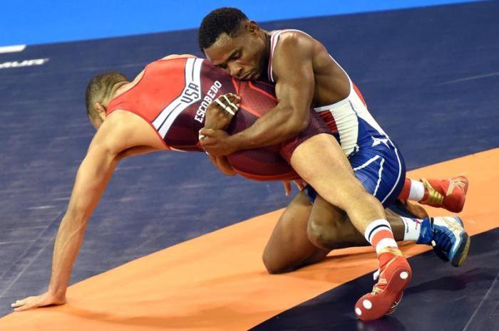 Cuba asiste con 11 gladiadores al Mundial de Lucha, con asiento en Las Vegas, EE.UU.
