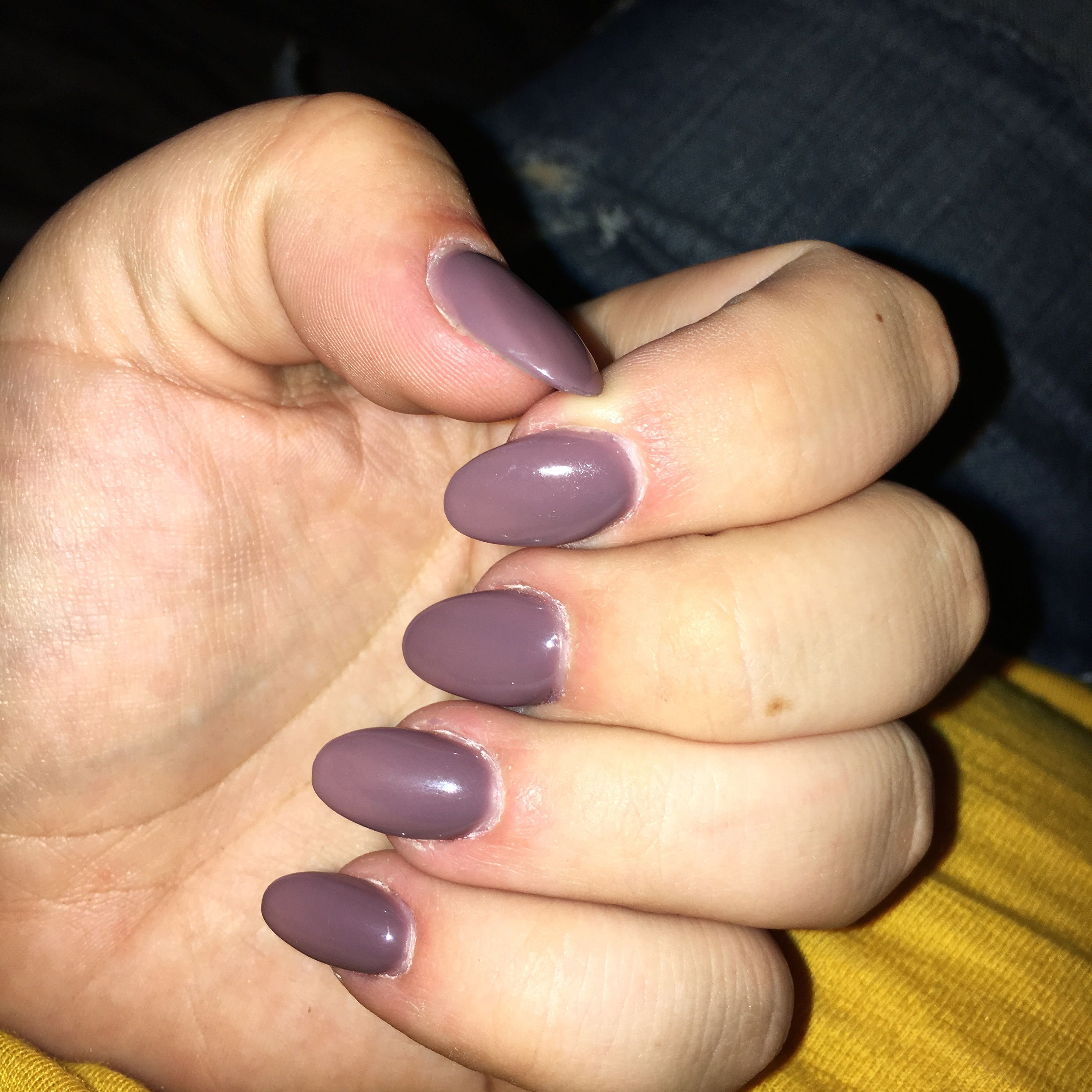 Acrylic Nails Almond Round Gel Color 87 | acrylic nails | Pinterest ...