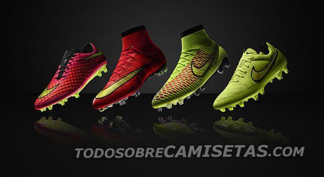 ef0ae24292a55 Botines de Nike para el Mundial 2014