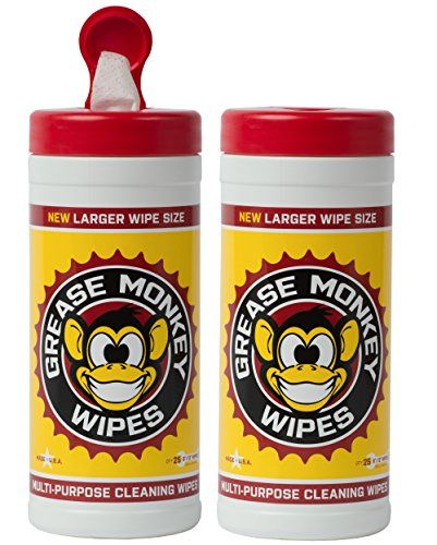Bike Cleaners Grease Monkey Wipes Heavy Duty Multi Purpose