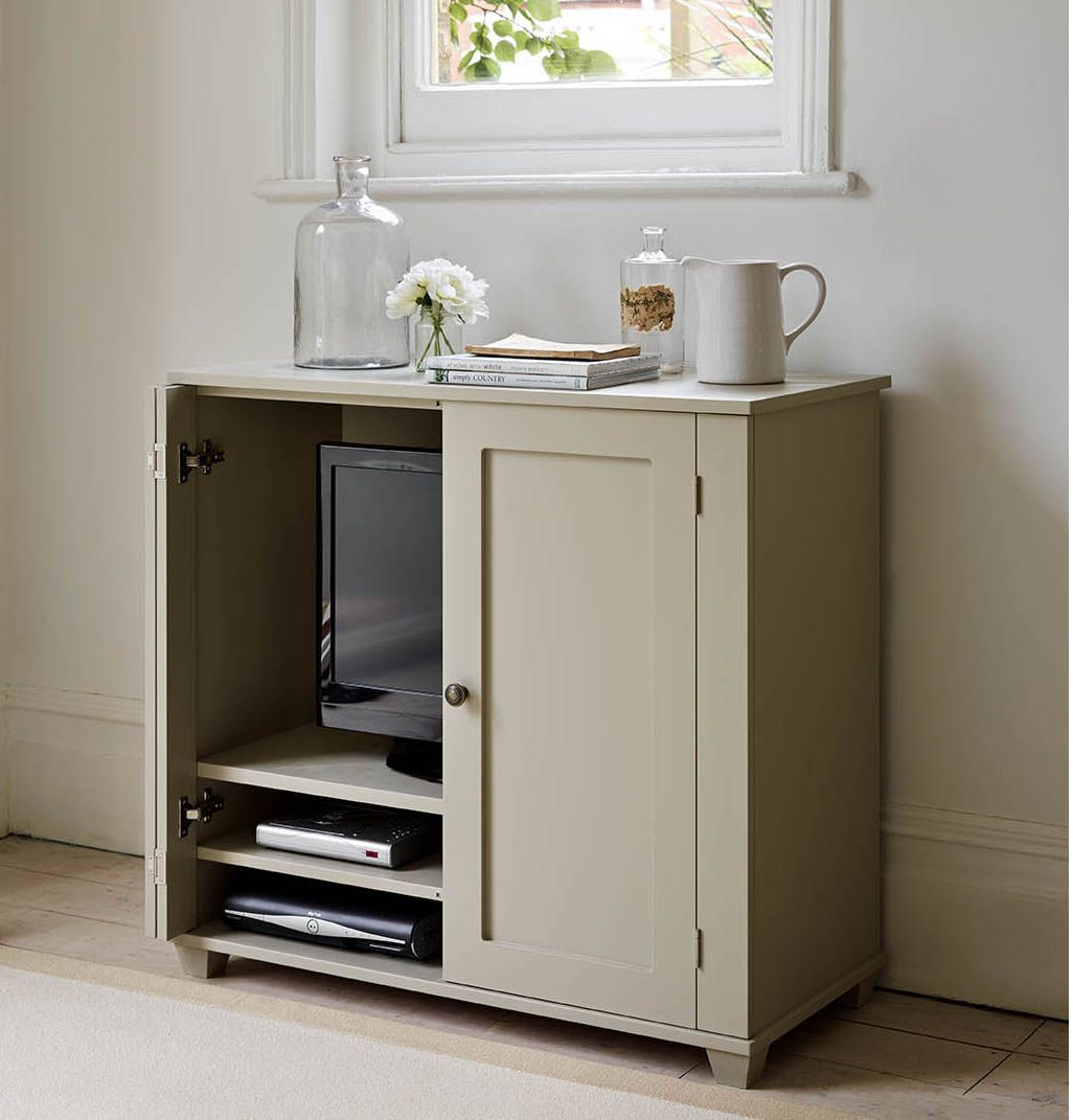 Best New England Television Storage Cupboard The Dormy House 400 x 300