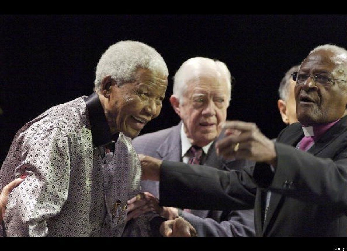 In 2007 Mandela celebrated his 89th birthday by launching an international group of elder statesmen, including fellow Nobel peace laureates Tutu and Jimmy Carter, to tackle world problems including climate change, HIV/AIDS and poverty.