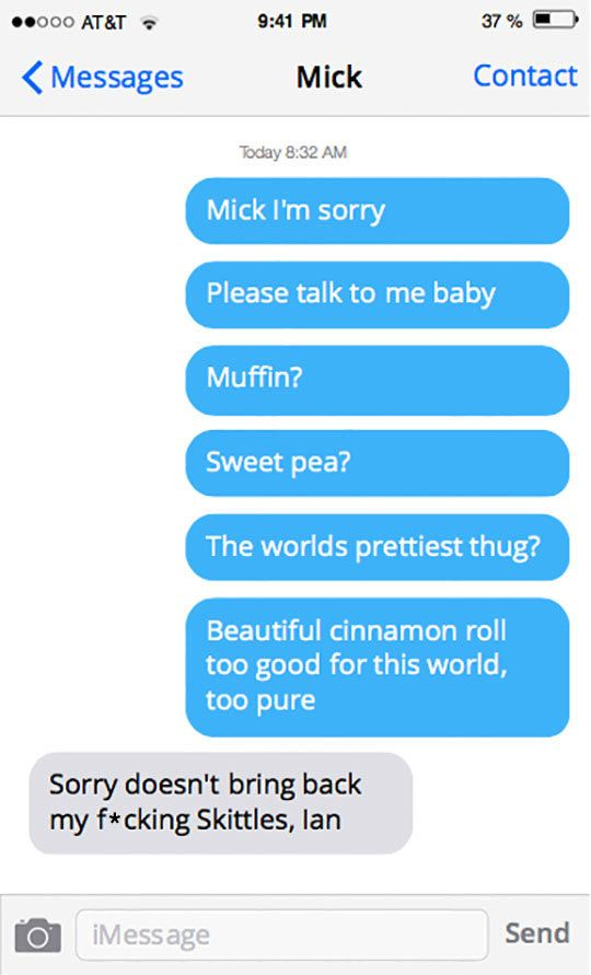 Apology Not Accepted   Emotional   Funny texts, Best funny
