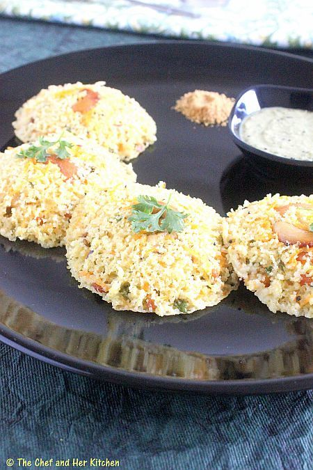 THE CHEF and HER KITCHEN: INSTANT OATS IDLI RECIPE ...