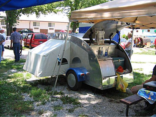 Teardrop Camper With Toilet Click On Picture For A
