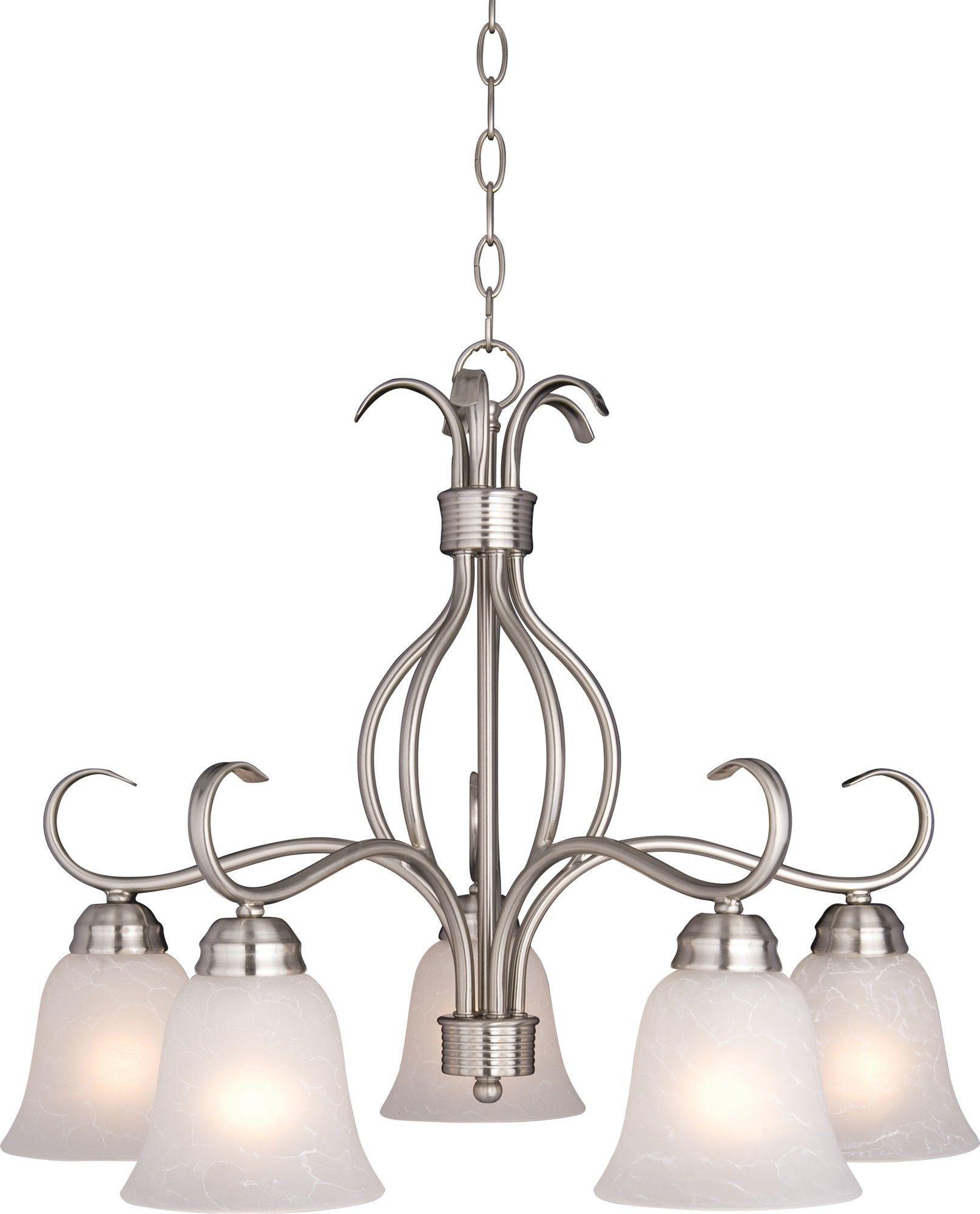 Birdsall 5-Light Shaded Chandelier