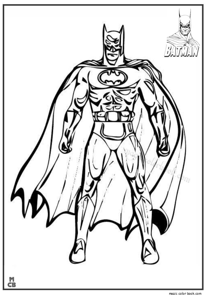 Pin by Magic Color Book on Batman Coloring Pages | Pinterest | Batman