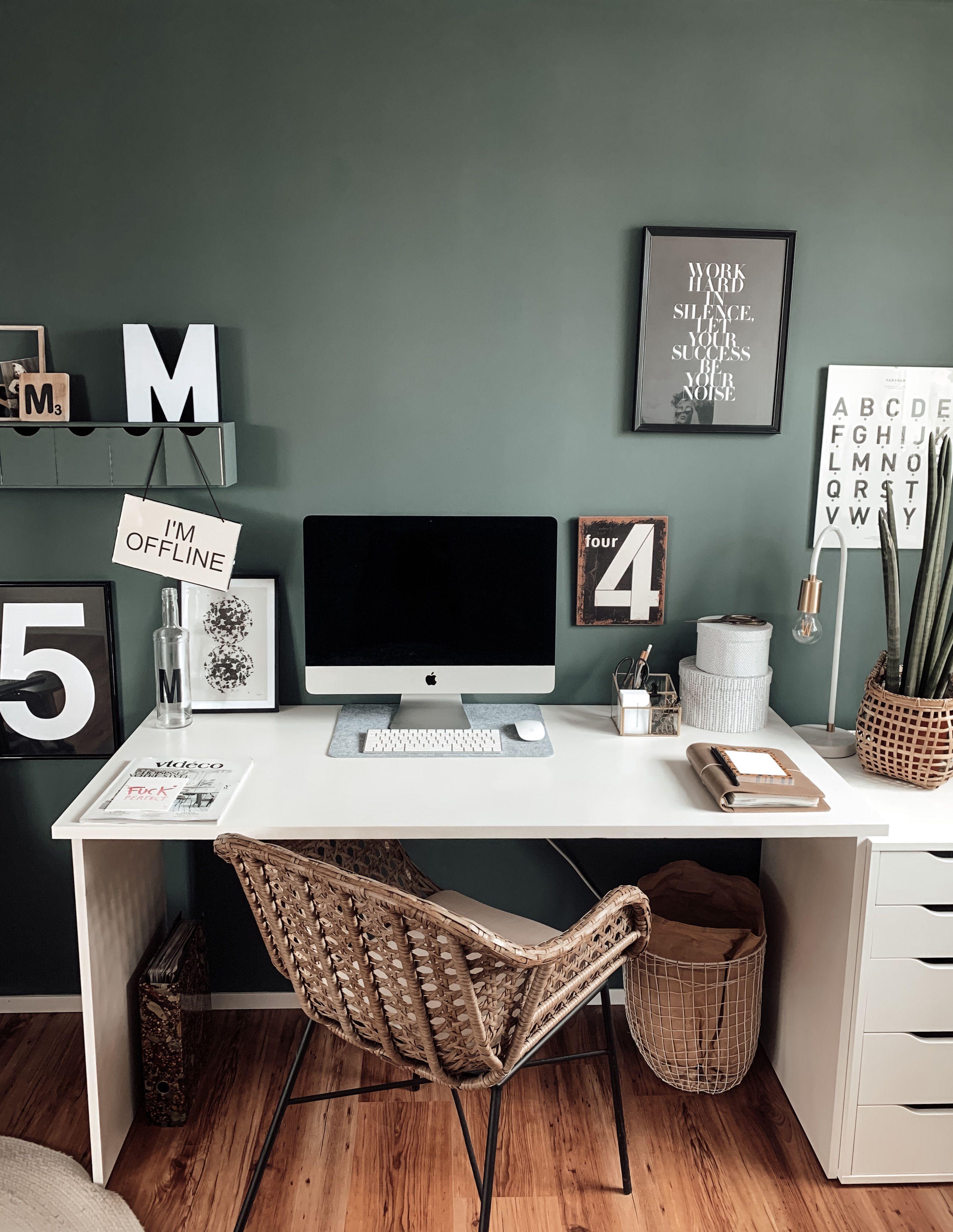 Büro Makeover – Arbeitsplatz neu gestalten – mikaswohnsinn