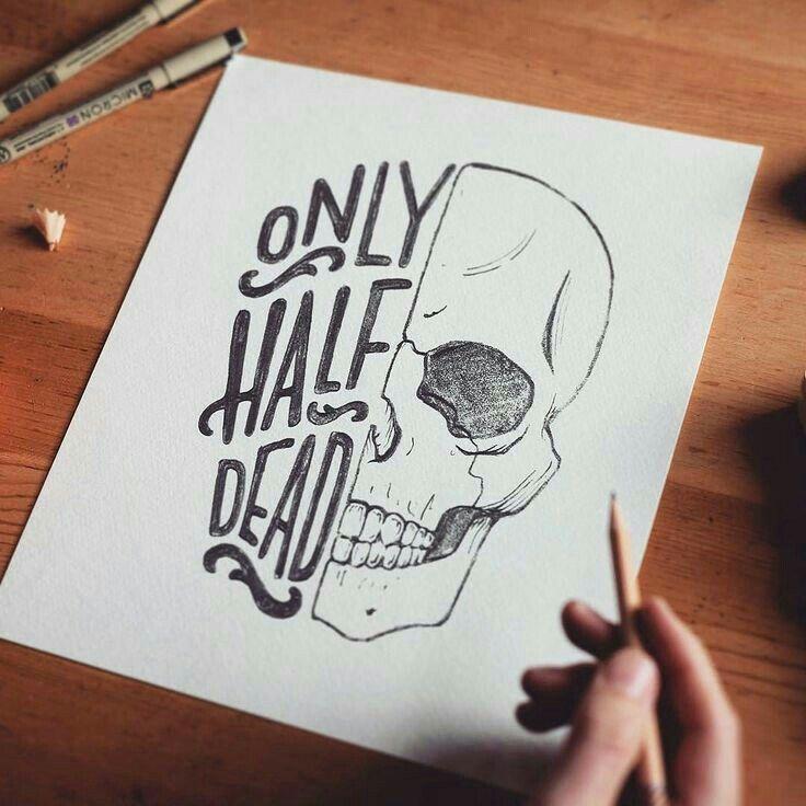 Best 25 Pencil Tattoo Ideas On Pinterest: Skull Tattoo In 2018