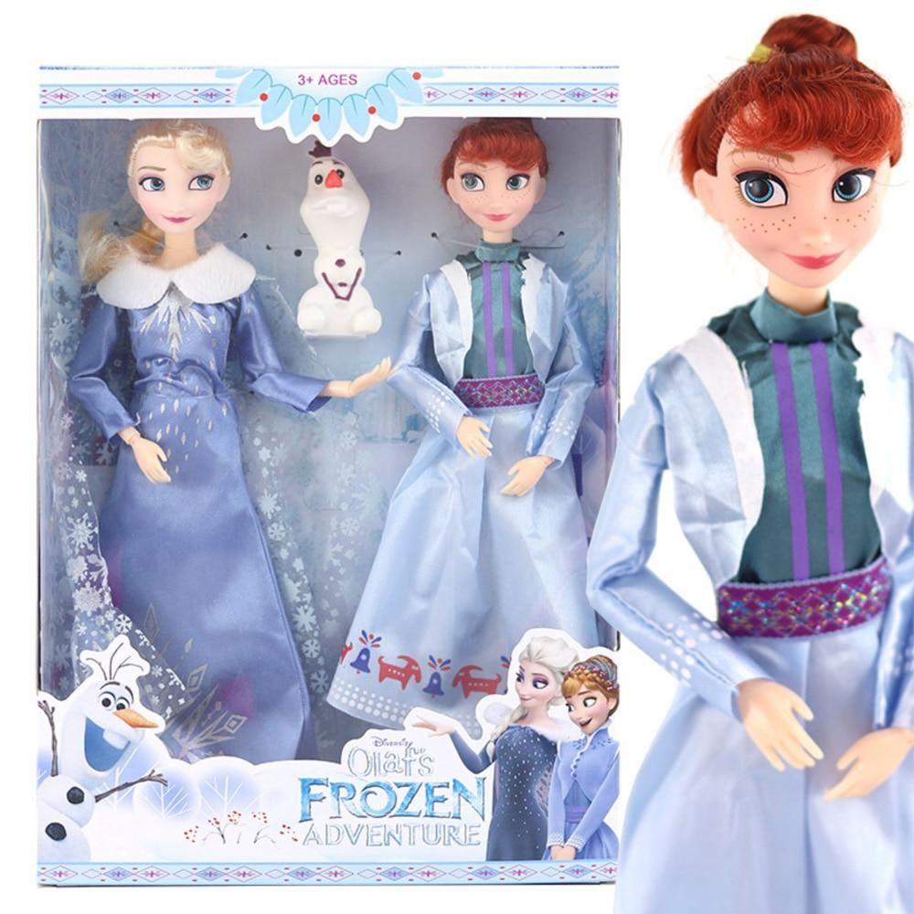 Disney Frozen 2 Elsa Anna Juguetes 30cm Para Niños Niñas Anna Y Elsa Disney Elsa Frozen