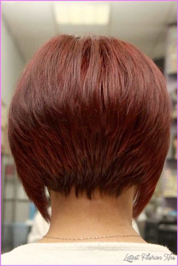 Cool Haircuts Short In Back Long Front Latestfashiontips