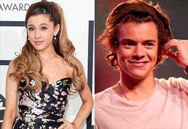 harry styles proppsing to ariana grande | Ariana Grande diz que Harry Styles é um compositor incrível - Getty ...