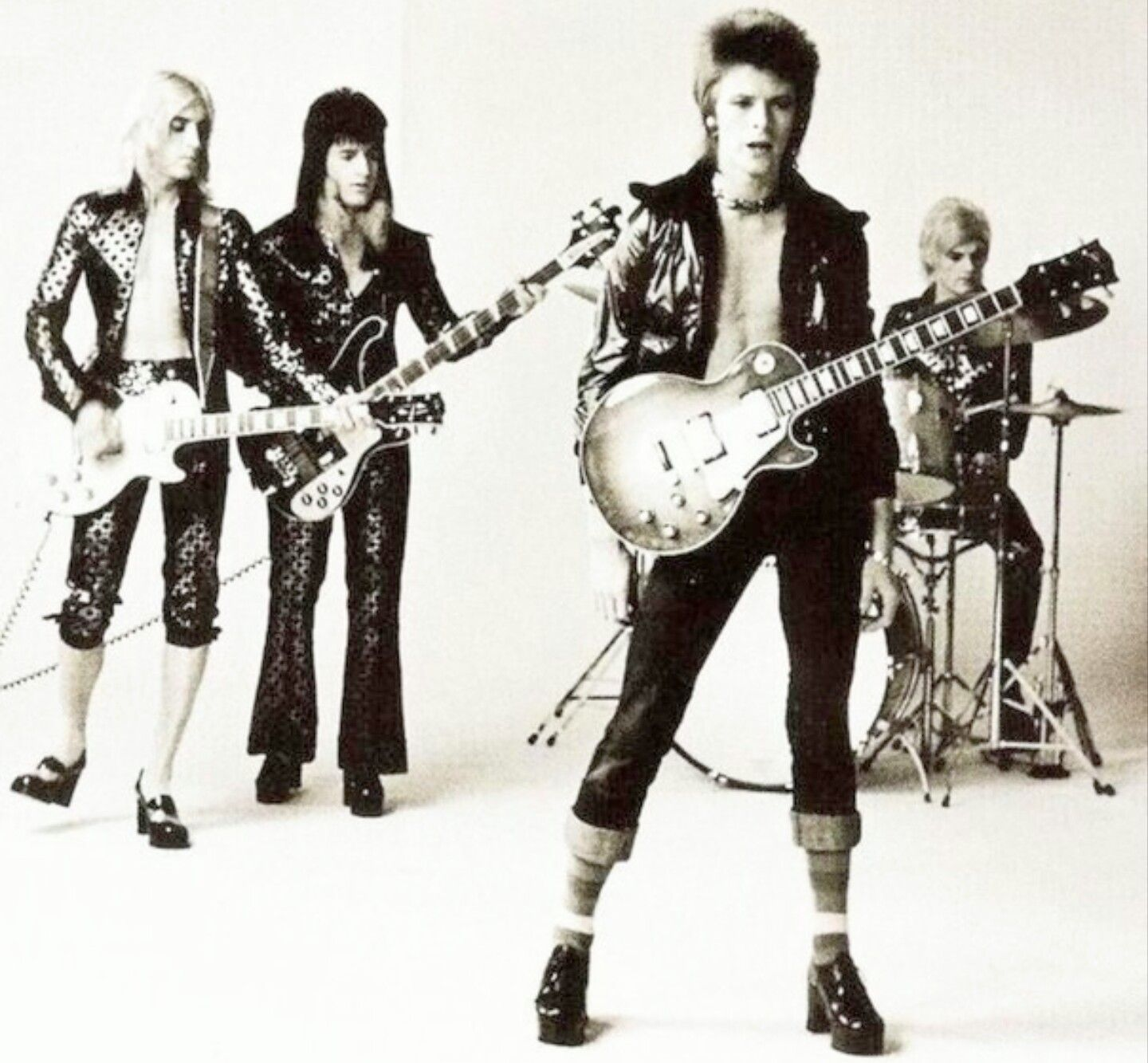 David Bowie and The Spiders From Mars