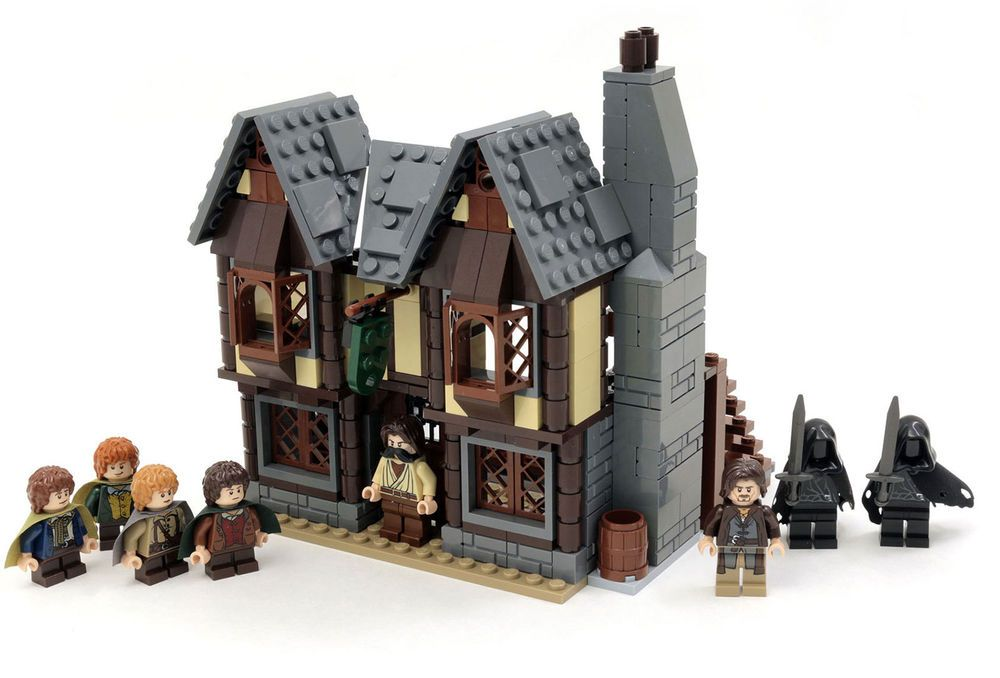 Instructions Parts List Only For Custom Lego Lord Of Rings The
