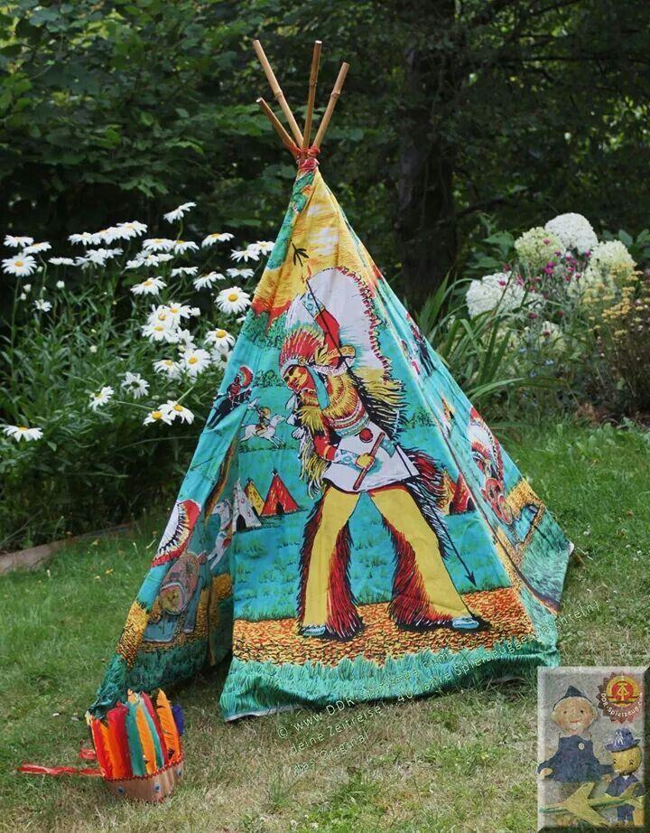 indianerzelt aus ddr zeiten ddr kindheitserinnerungen pinterest ddr ddr spielzeug und. Black Bedroom Furniture Sets. Home Design Ideas
