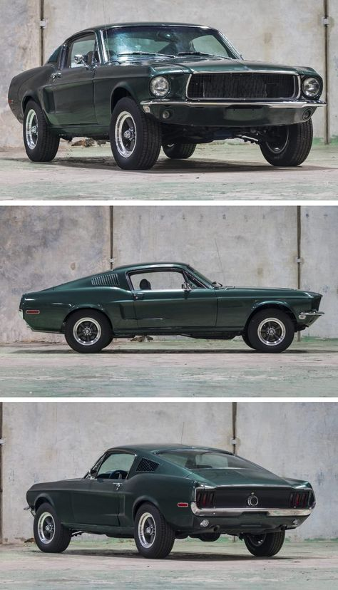 Photo of Bullitt-Spec 1968 Ford Mustang Fastback