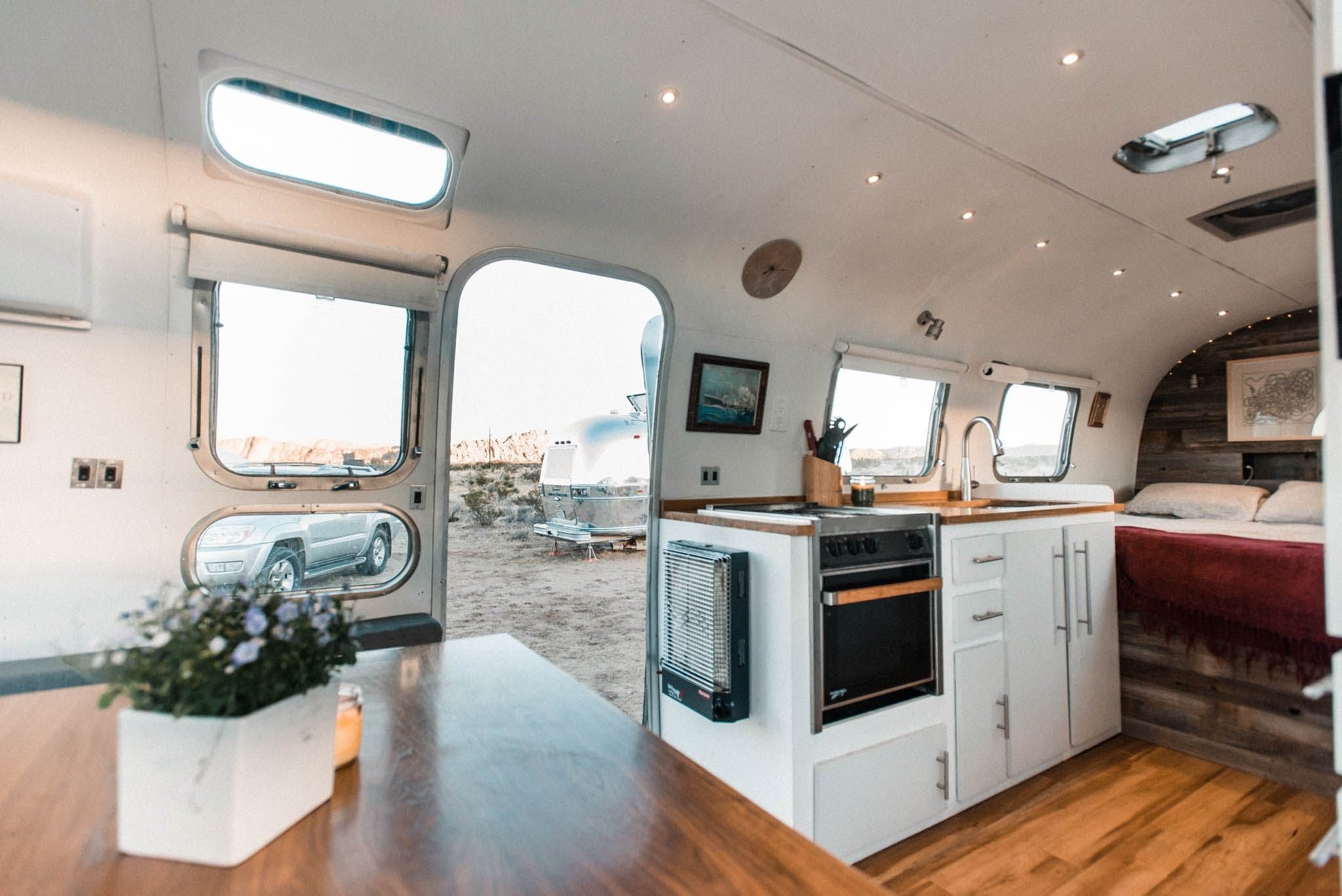 The Dreamy Diy Remodel Of A 1972 Airstream Home With