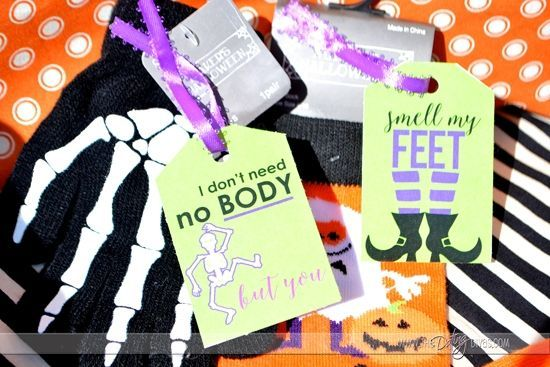 To My BOO: Halloween Gift Basket (The Dating Divas) #spookybasketideas