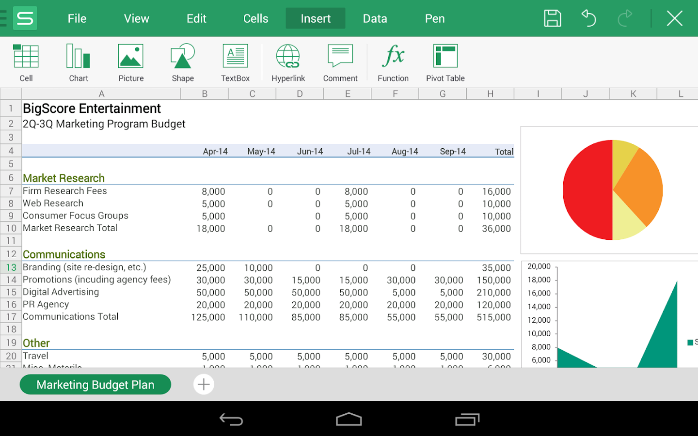 Free Spreadsheet Apps Spreadsheet App Spreadsheet Template Spreadsheet