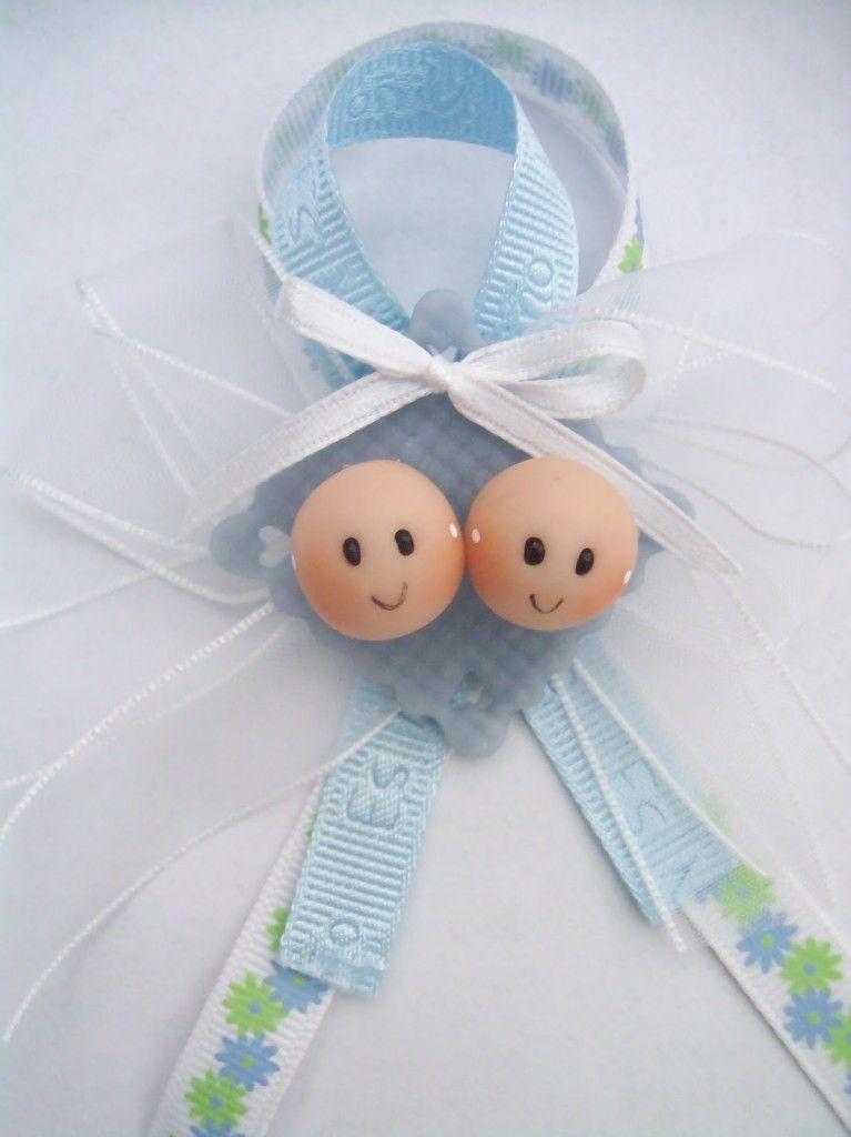 f22b7aef3 Manualidades para Baby Shower para gemelos