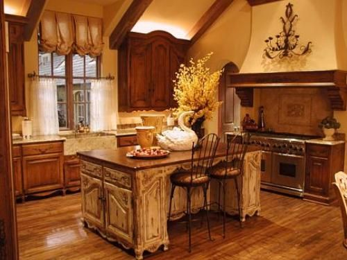 Rustic Charm Is One Way To Describe The French Country Kitchen Decorating  Ideas. The French Country Kitchen Decorating Ideas Are Ideal For The Kitchen,  ...