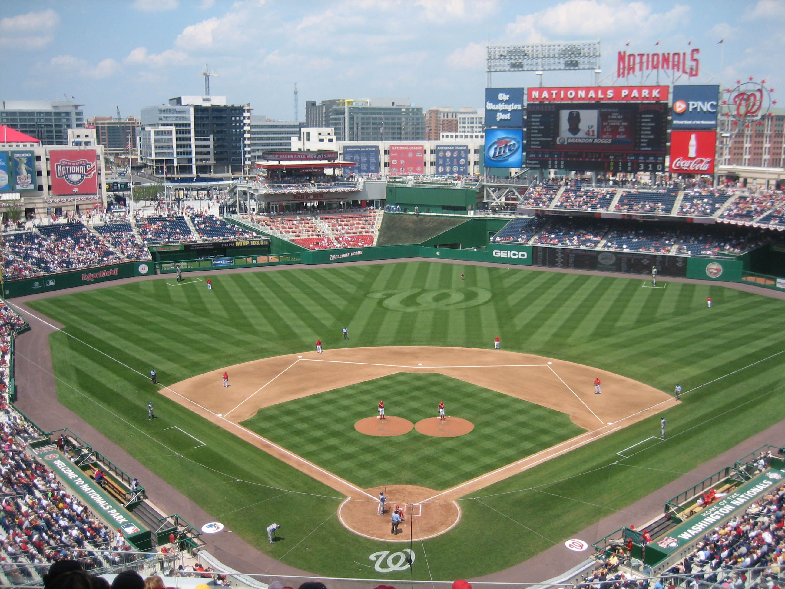 Mlbの球場貼っていくンゴ Mlb News なんj Nationals Park Baseball Stadiums Parks Baseball Stadium