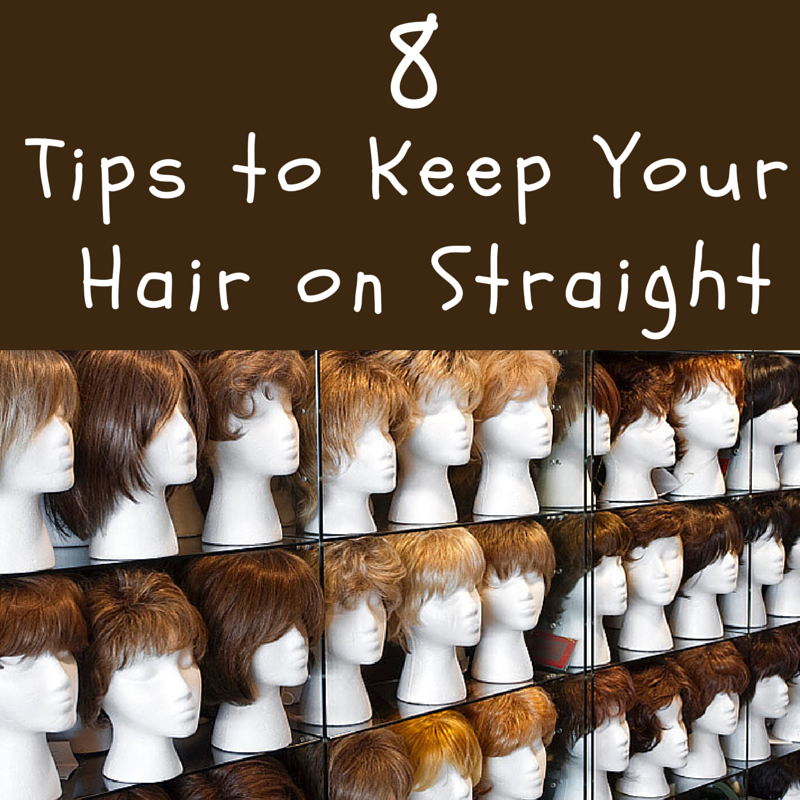 how to keep hair straight