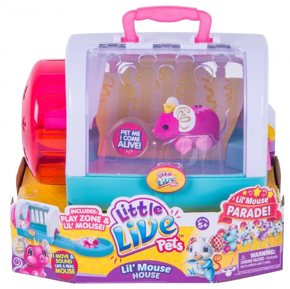 Little Live Pets S4 Lil Mouse House Moose Toys Little