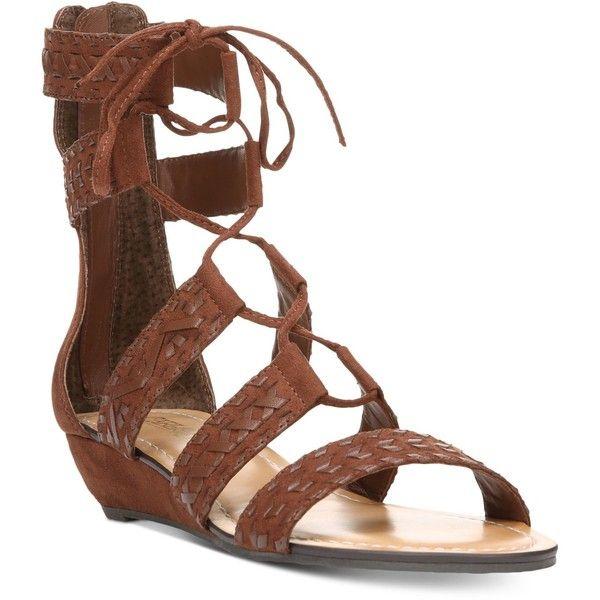 Carlos by Carlos Santana Kamilla Lace-Up Gladiator Sandals ($79 ...