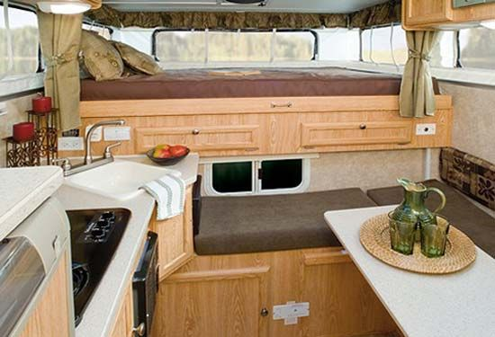 Pop Up Camper Interior There Are 6 Models Of The Palomino Bronco