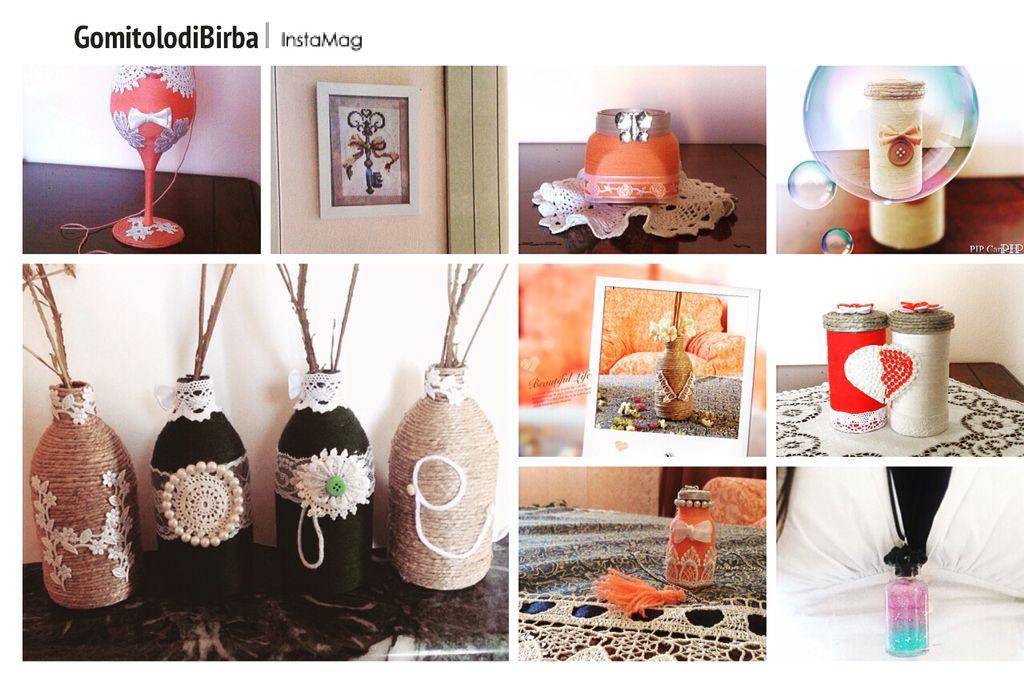 My shop  #handmade #handcraft #handcrafted #diy #dawanda #jar #bottle #necklace #crosstich #artigianale #collana #barattolo #bottoglie #shabbychic #fattoamano