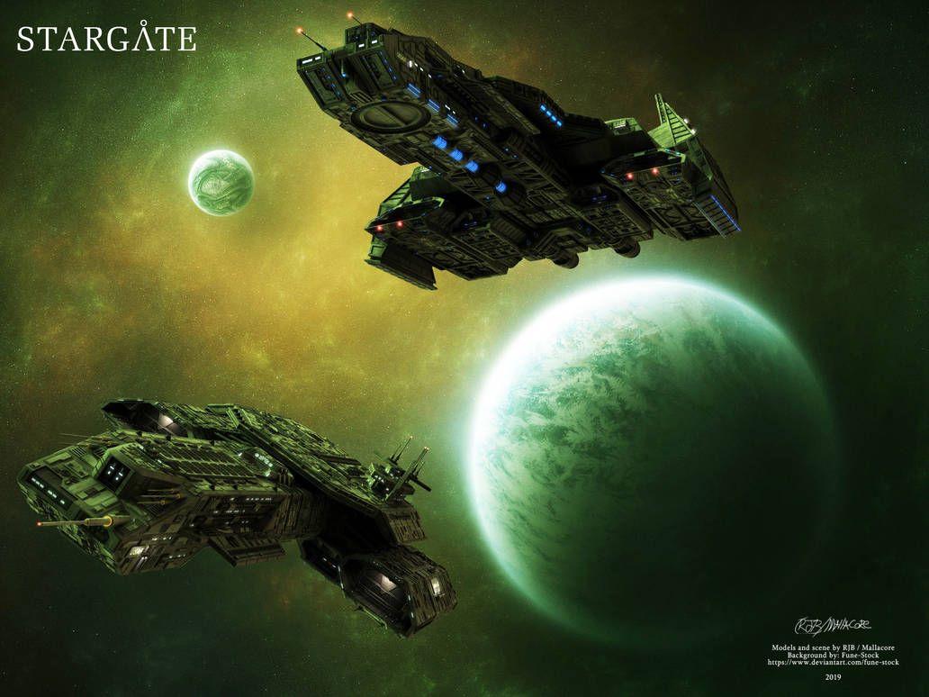 Stargate Daedalus Phenoix By Mallacore On Deviantart