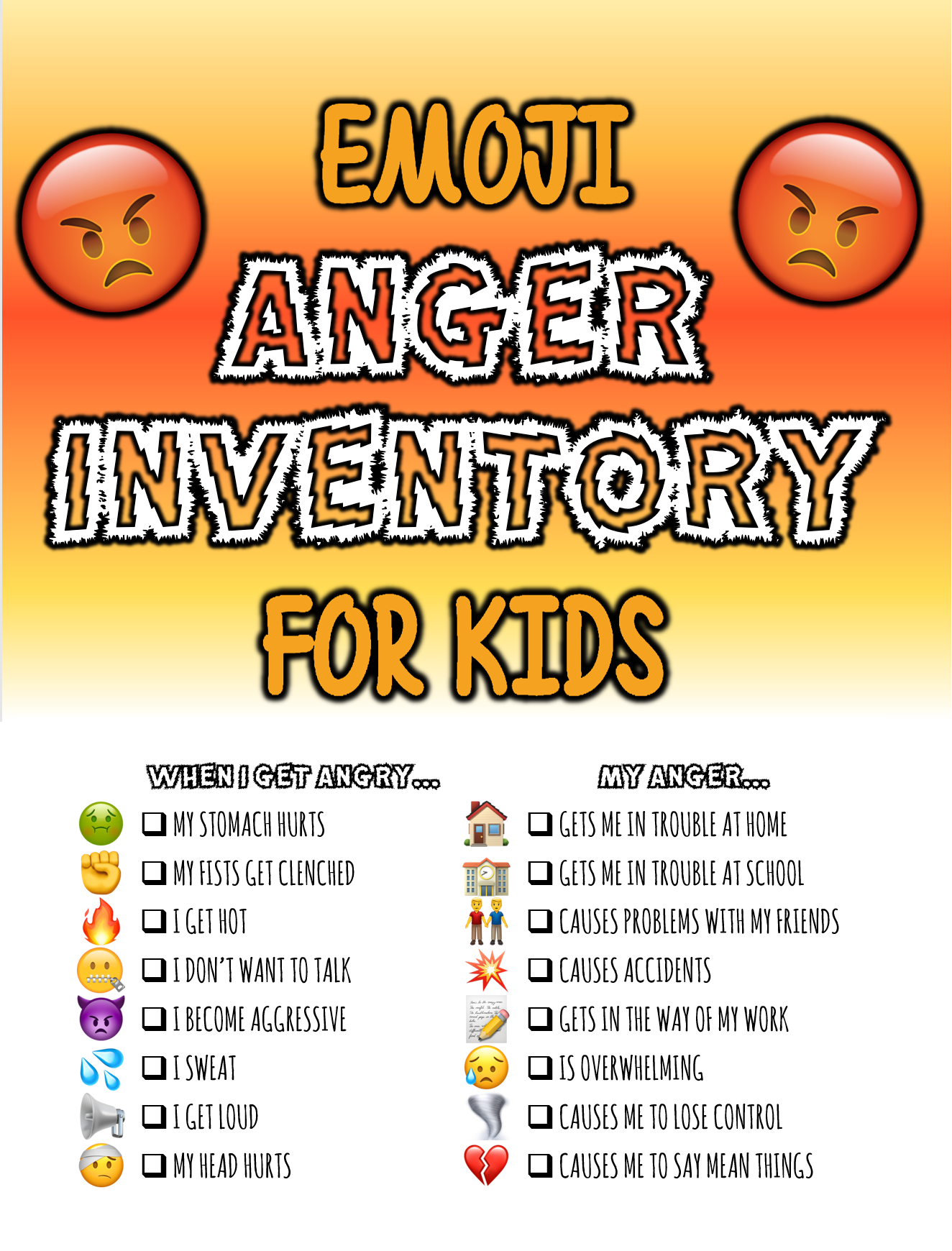 Anger Inventory